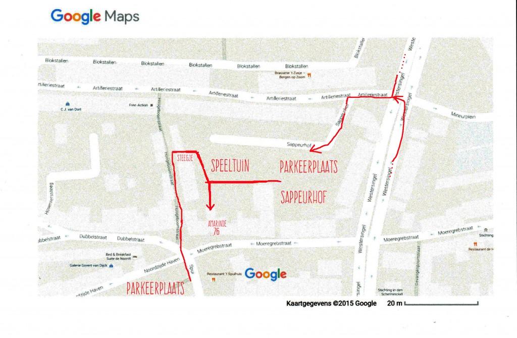 Amarinde plattegrond 002