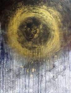 Man in the moon Verkocht 60 x 80