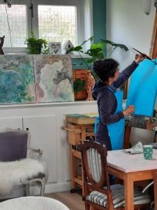 intuïtief schilderen Amarinde